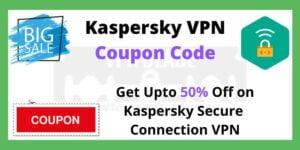 Kaspersky VPN Coupon Code