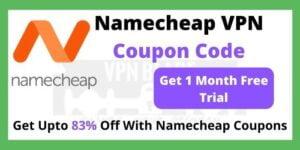Namecheap VPN Coupon Code
