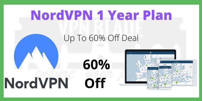 NordVPN 1 Year Plan Coupon