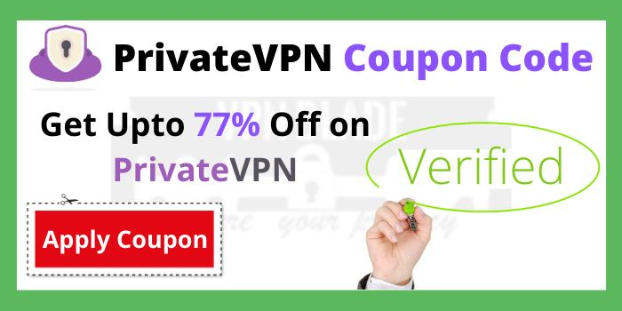 PrivateVPN Coupon Code and Promo Code