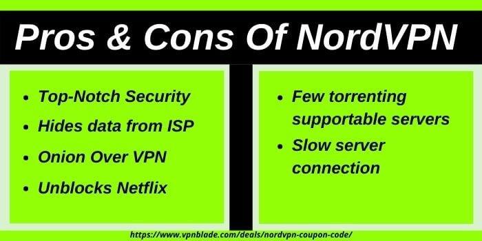 Pros & Cons Of NordVPN