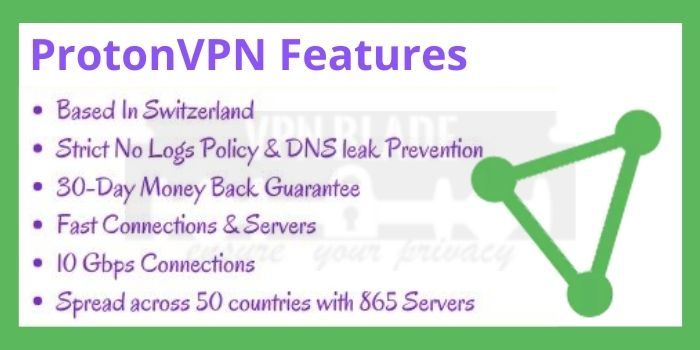 ProtonVPN Features