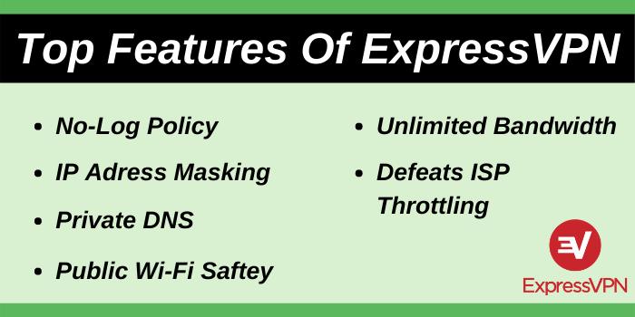 Top Features of ExpressVPN