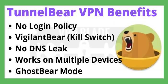 TunnelBear VPN Benefits