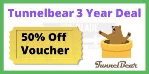 Tunnelbear 3 Year Deal