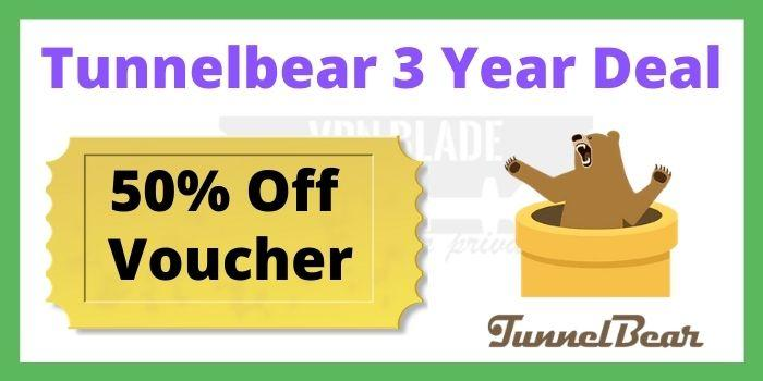 Tunnelbear 3 Year Deal