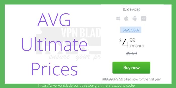 AVG Ultimate Prices