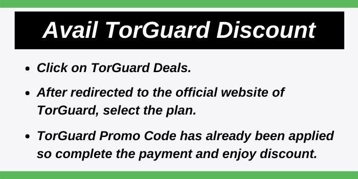 Avail TorGuard Discount