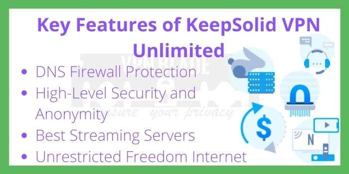Key Features of KeepSolid VPN Unlimited