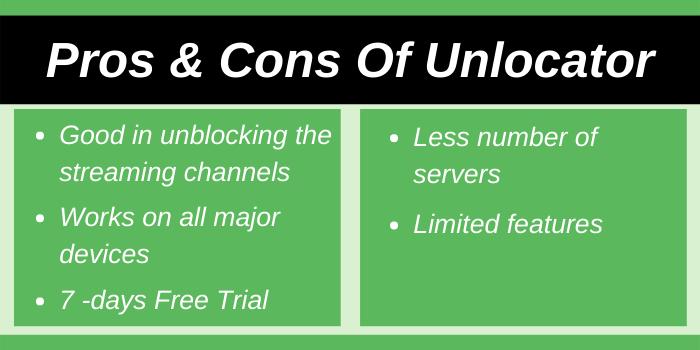 Pros & Cons Of Unlocator