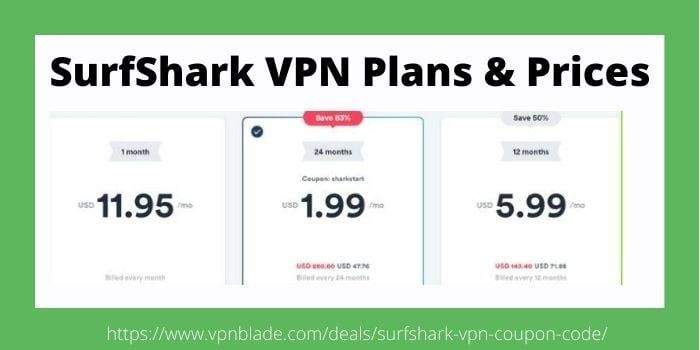 SurfShark Pricing