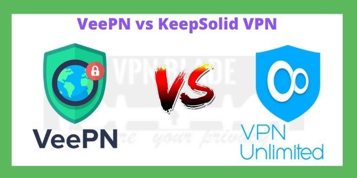 VeePN vs KeepSolid VPN