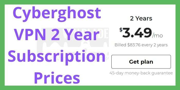 Cyberghost 24 Months Coupon Code