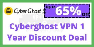 Cyberghost VPN 1 Year Discount Deal
