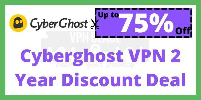 Cyberghost VPN 2 Year Discount Deal