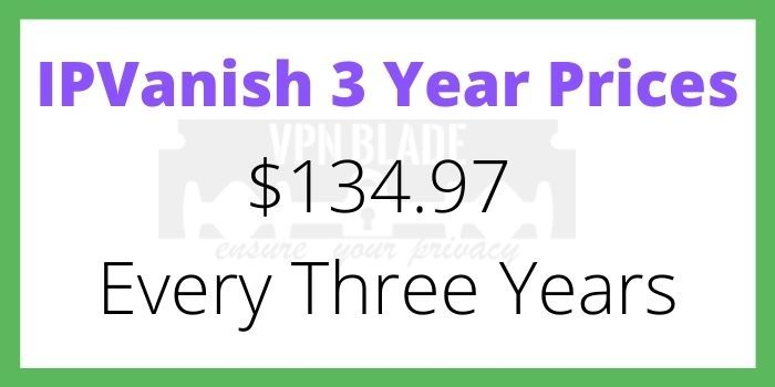 IPVanish 3 Year Subscription Discount Code