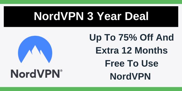 NordVPN 3 Year Deal