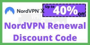 NordVPN Renewal Discount Code