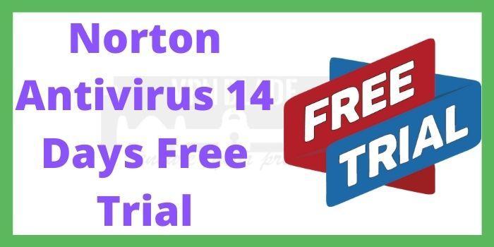 Norton Antivirus Free Trial