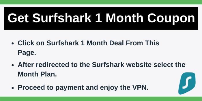 Steps to get Surfshark Discount