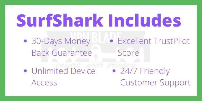 SurfShark 24+3 Months Deal