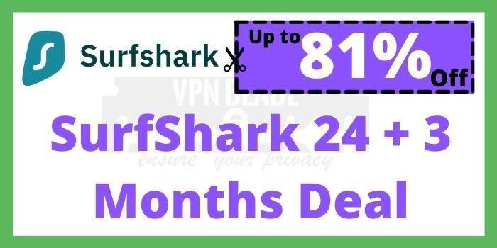 SurfShark 27 Months Deal
