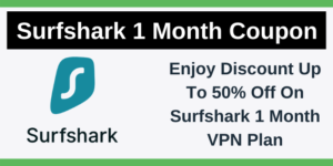 Surfshark 1 Month Coupon Code