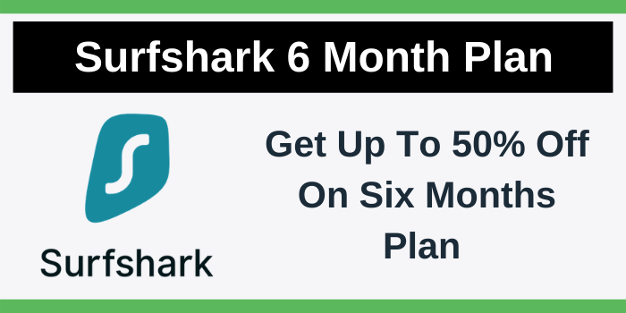 Surfshark 6 Month Plan