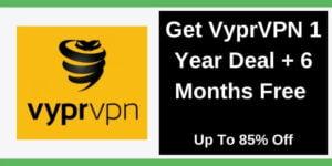 VyprVPN 1 year deal