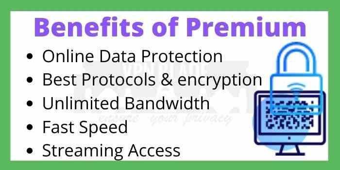 Benefits of Premium VPN